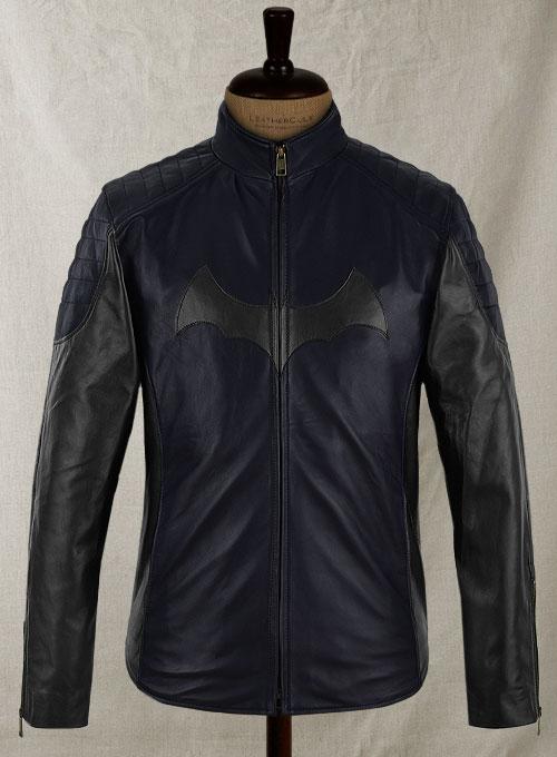 Batman Begins Christian Bale Leather Jacket