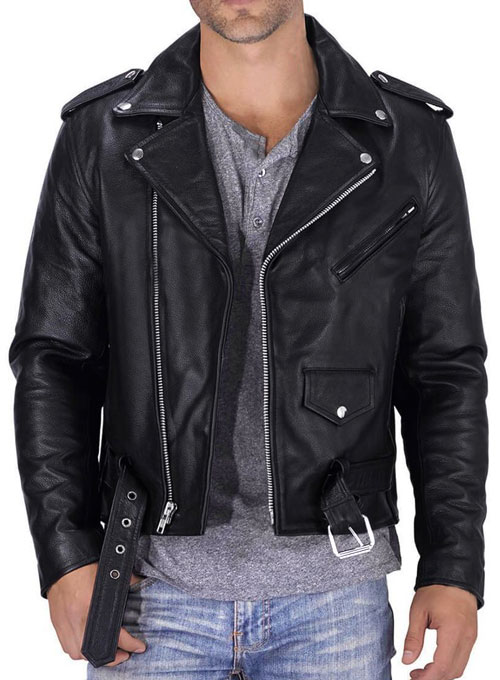 Pure Leather Biker Jacket #1 - 50 Colors