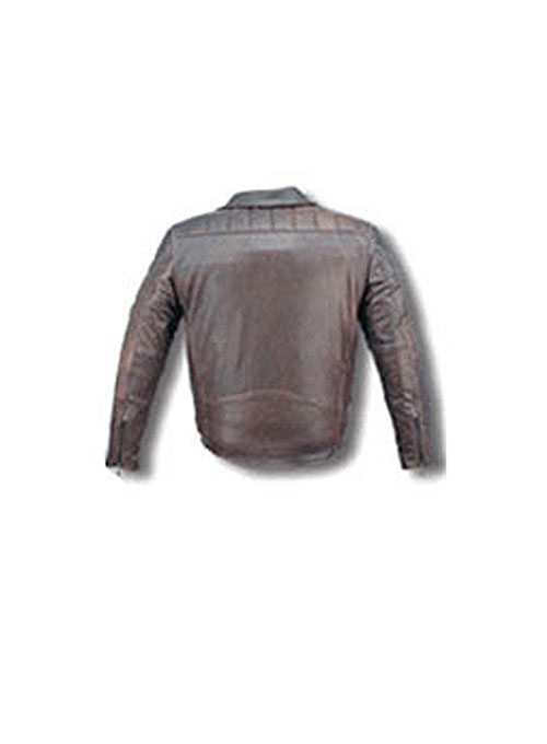 Pure Leather Biker Jacket #3 - 50 Colors