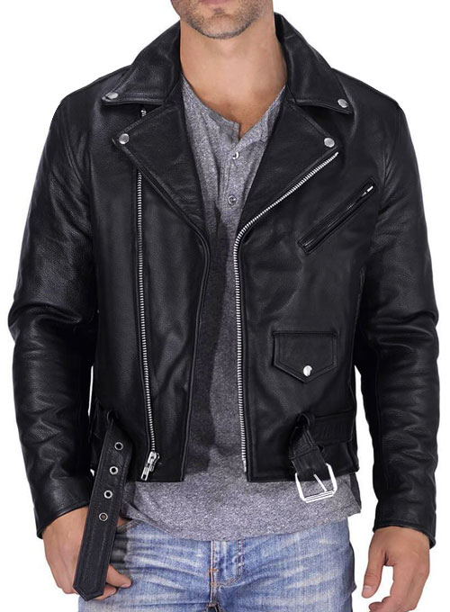 Pure Leather Biker Jacket #1