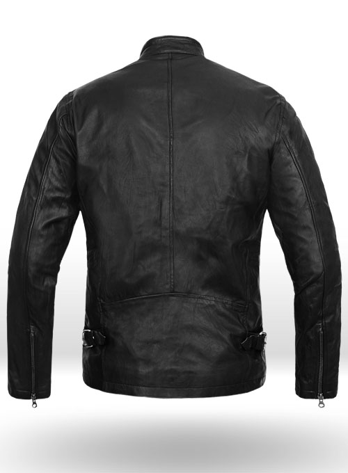 Cafe Racer Leather Jacket - Click Image to Close