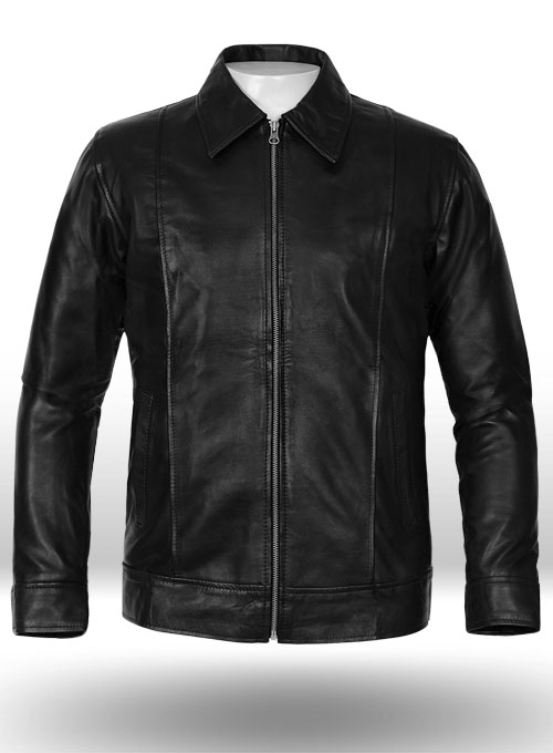Californication Hank Moody Season 5 Leather Jacket