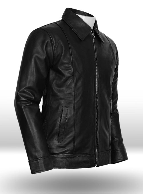 Californication Hank Moody Season 5 Leather Jacket - Click Image to Close