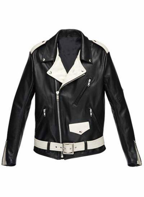 Combo Leather Jacket - # 136 - 50 Colors
