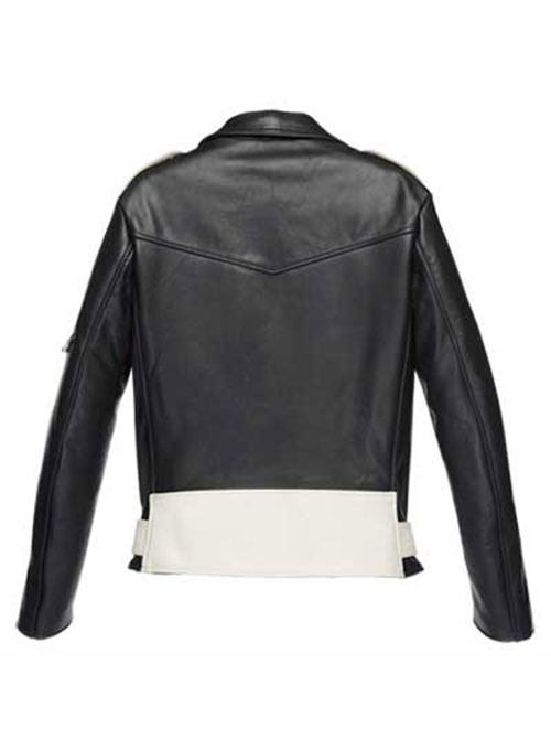 Combo Leather Jacket - # 136 - Click Image to Close