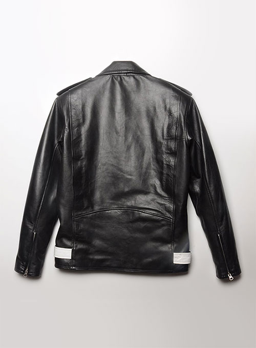 Combo Leather Jacket - # 137 - 50 Colors