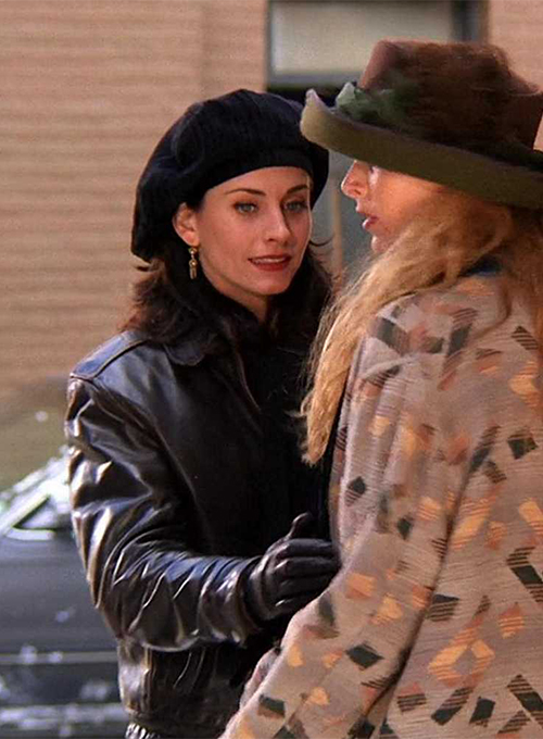 Courteney Cox Friends Season 1 Leather Jacket