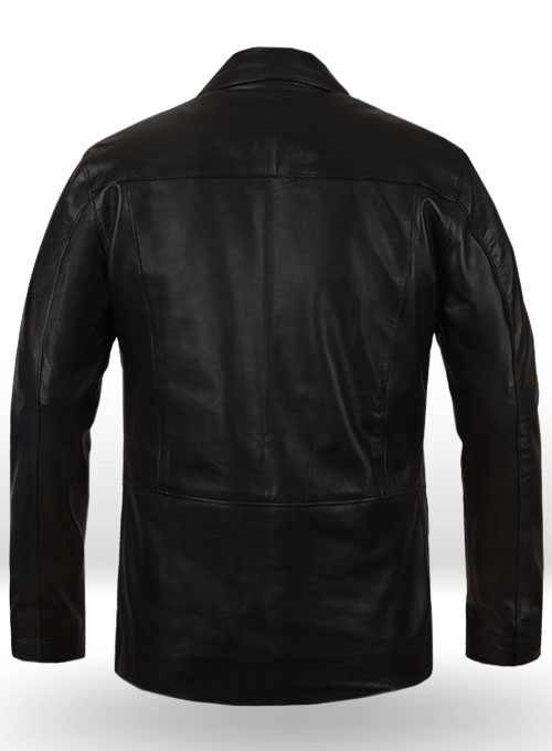 Damon Salvatore Leather Jacket - Click Image to Close