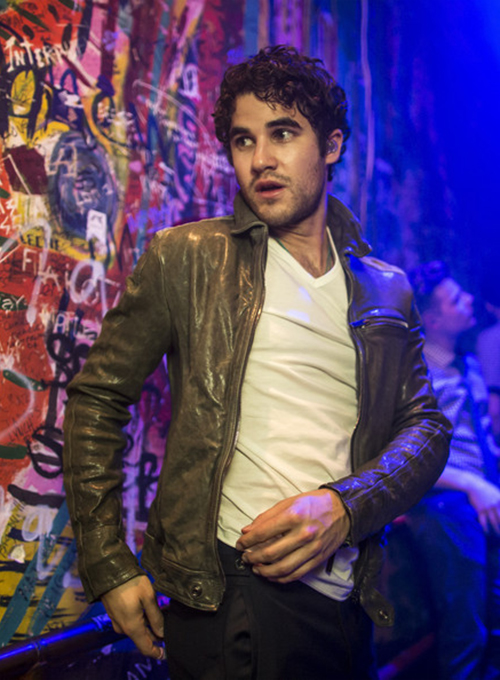 Darren Criss Leather Jacket #2