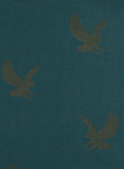 Eagle Teal Wool Jacket - Click Image to Close