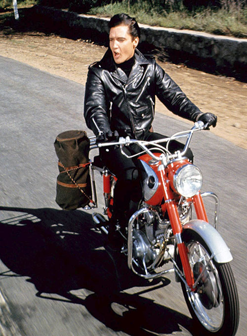 Elvis Presley Roustabout Biker Jacket Makeyourownjeans