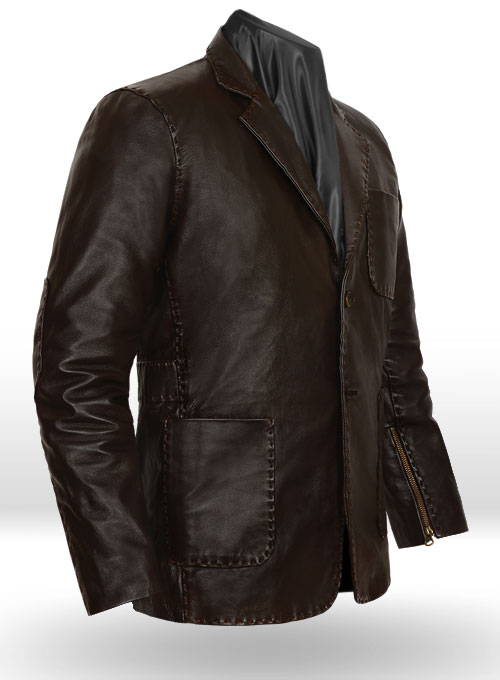 Fast and Furious 7 Jason Statham Leather Jacket - Click Image to Close
