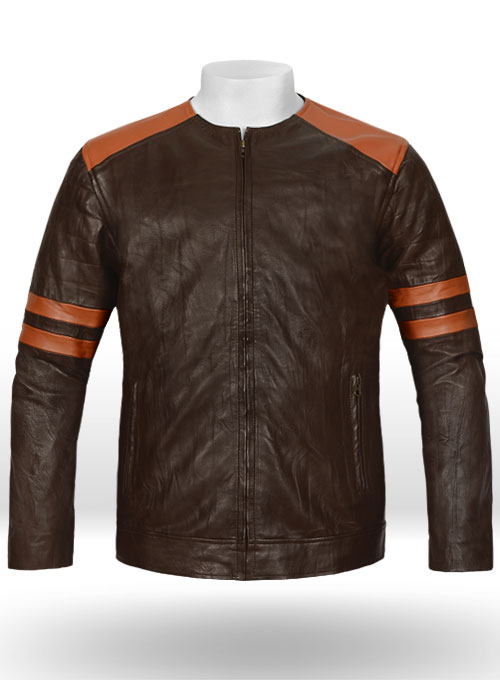Leather Fighter T-Shirt Jacket - 35 Colors