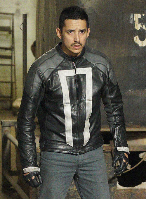Gabriel Luna Agents Of Shield 4 Leather Jacket - Click Image to Close