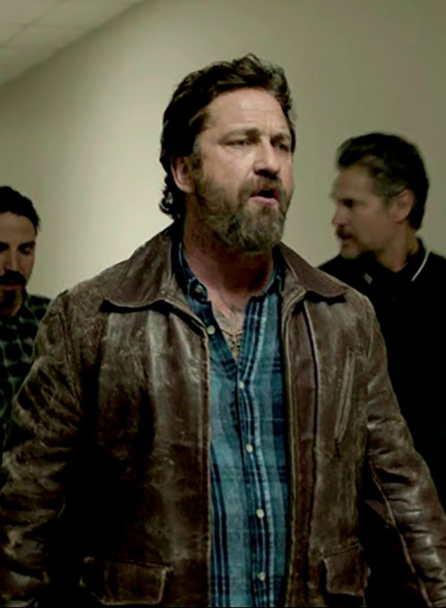 Gerard Butler Den Of Thieves Leather Jacket