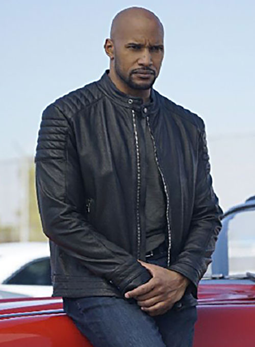 Henry Simmons Agents Of S.H.I.E.L.D Leather Jacket
