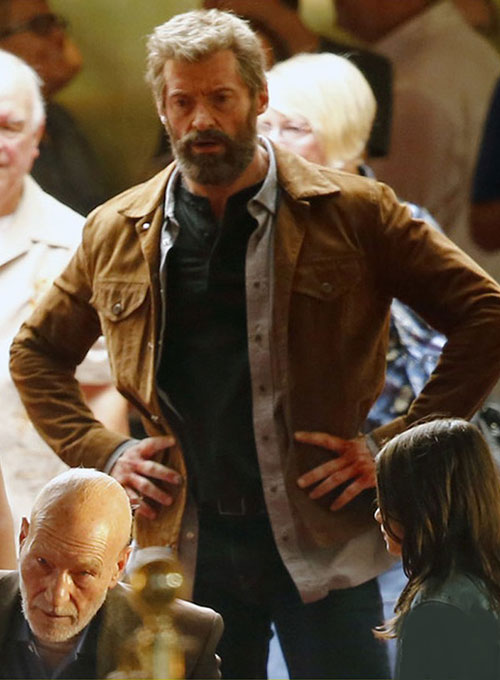 Hugh Jackman Logan Leather Jacket