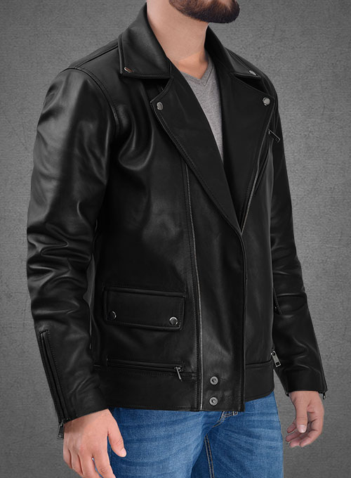 Ian Somerhalder The Vampire Diaries Leather Jacket - Click Image to Close