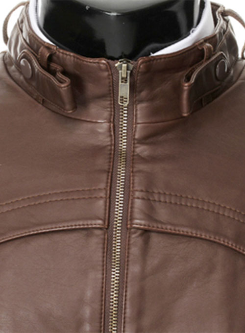 Leather Jacket #602 - 50 Colors