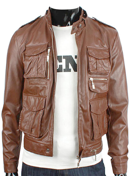 Leather Jacket #604 - 50 Colors