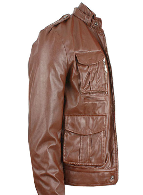 Leather Jacket #604