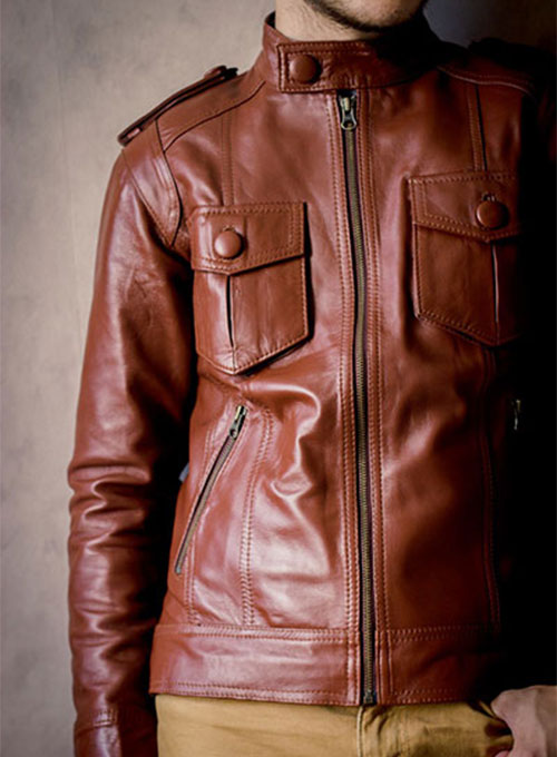 Leather Jacket #605