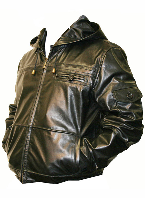 Leather Hood Jacket #704 - 50 Colors