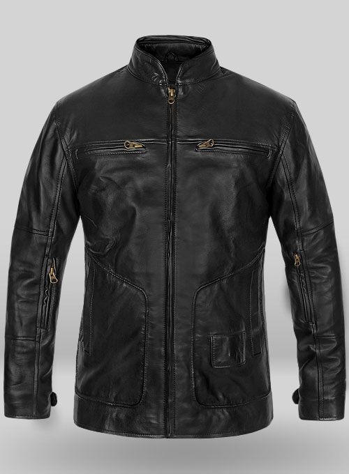 Leather Jacket #881 - 50 Colors
