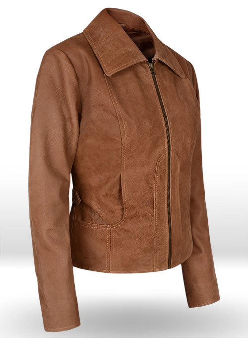 Jennifer Lopez Gigli Leather Jacket - Click Image to Close
