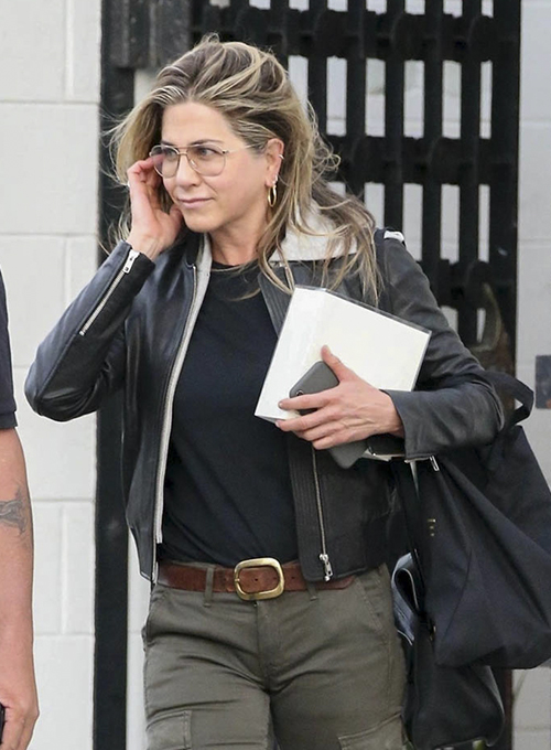 Jennifer Aniston Leather Jacket #2