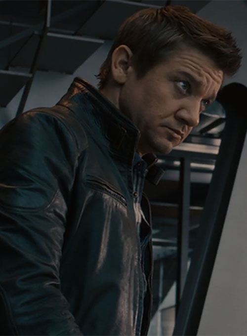 Jeremy Renner Avengers: Age of Ultron Leather Jacket