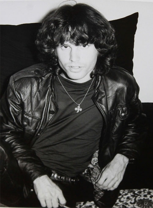 Jim Morrison Leather Jacket # 2