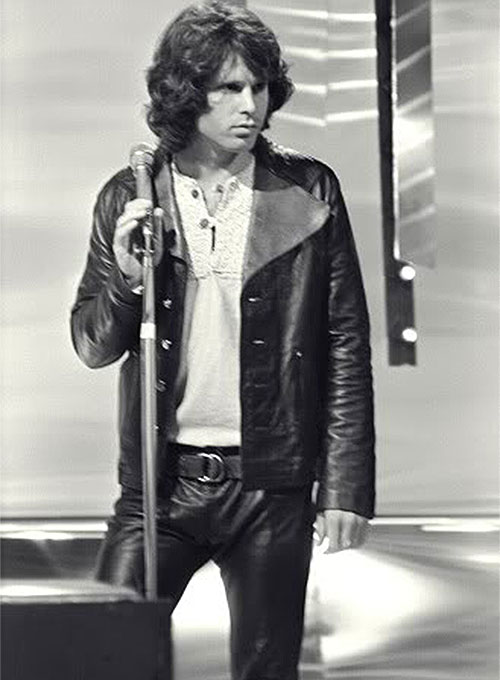 Jim Morrison Leather Jacket Makeyourownjeans 174 Made To