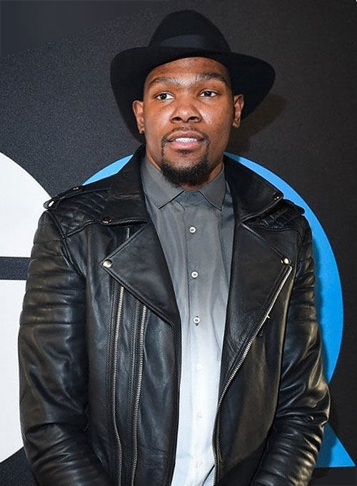 Kevin Durant Leather Jacket