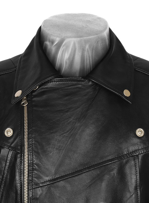 Pure Leather Biker Jacket #3