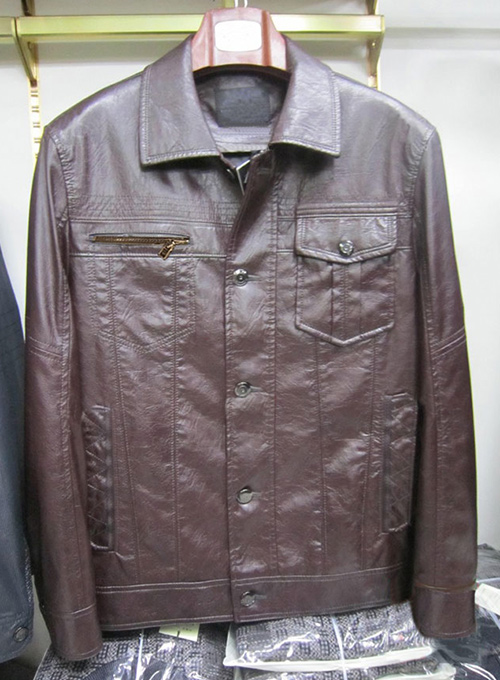 Leather Jacket #123 - 50 Colors