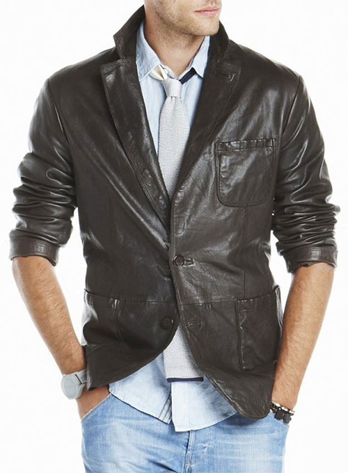 Leather Jacket #124 - 50 Colors
