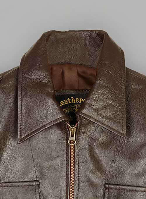 Leather Jacket #821