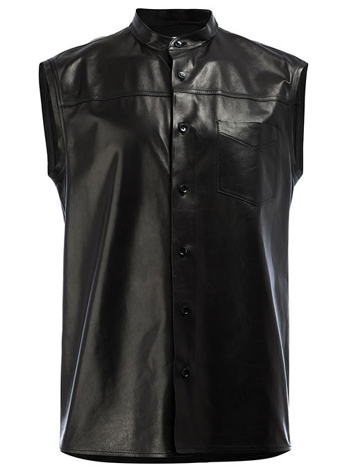 Leather Shirt Sleeveless #2