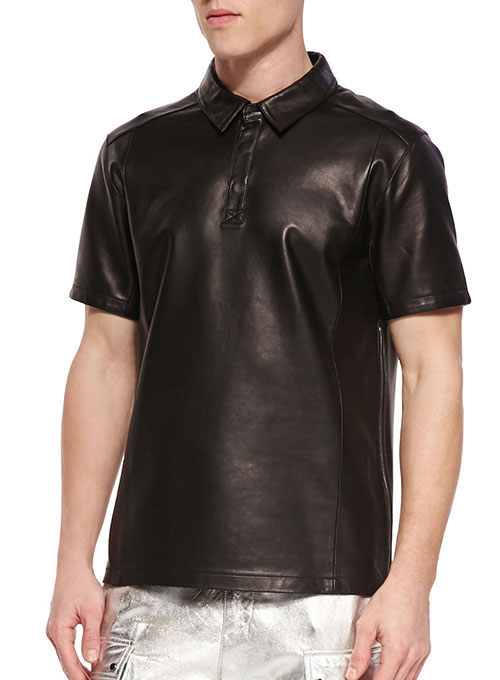 Leather T-Shirt #2