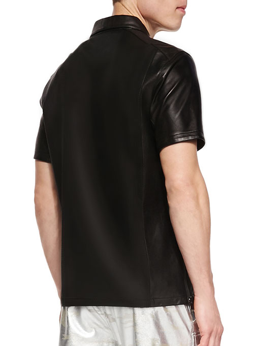 Leather T-Shirt #2 - Click Image to Close