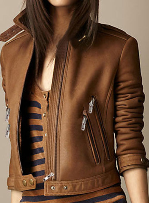 Leather Jacket # 219