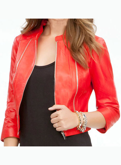 Leather Jacket # 230