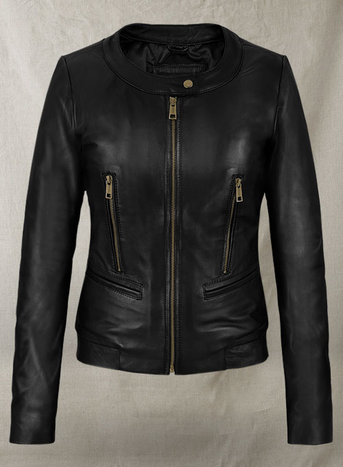 Leather Jacket # 249