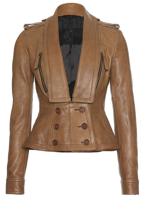 Leather Jacket # 252