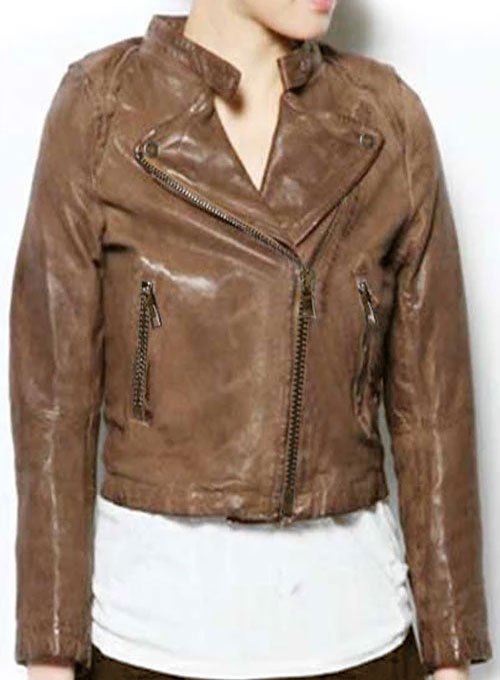 Leather Jacket # 260