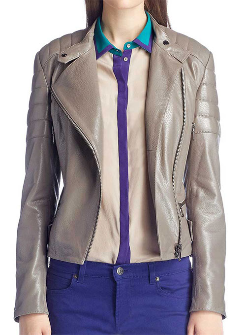 Leather Jacket # 262 - 50 Colors