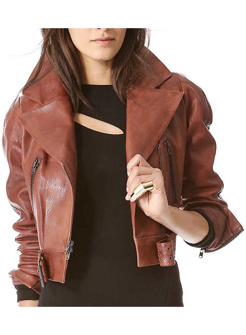 Leather Jacket # 273