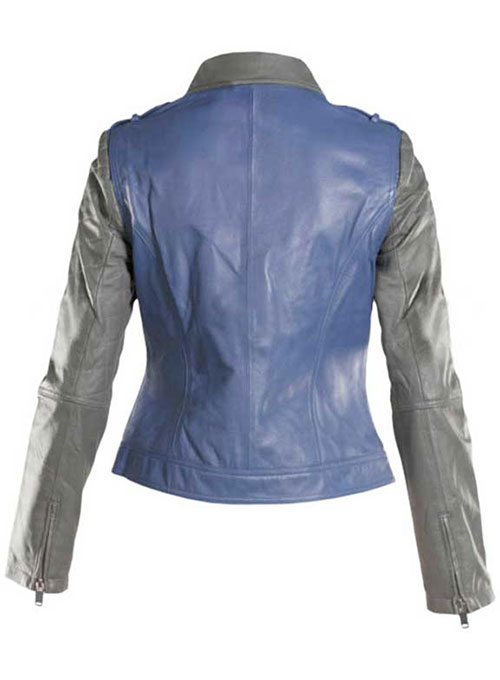 Leather Jacket # 281 - 35 Colors