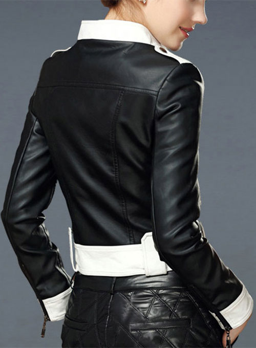 Leather Jacket # 514 - Click Image to Close
